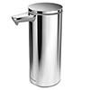 simplehuman Rechargeable Liquid Sensor Pump Soap Dispenser - Polished Steel - ST1044 profile small image view 1