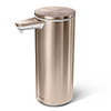simplehuman Rechargeable Liquid Sensor Pump Soap Dispenser - Rose Gold Steel - ST1046 profile small image view 1