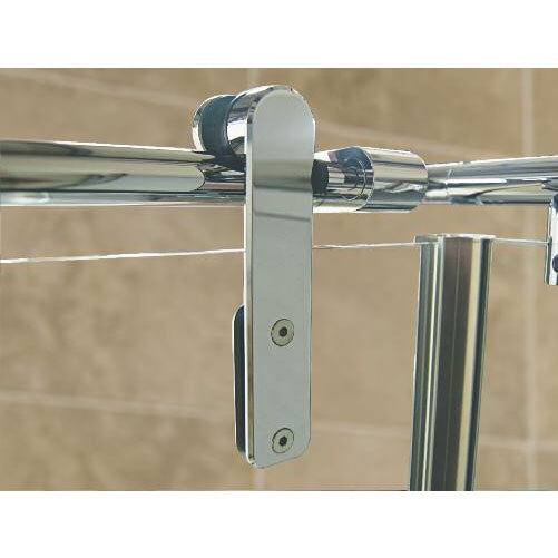 Roman Sculptures Sliding Shower Door with Side Panel profile large image view 2
