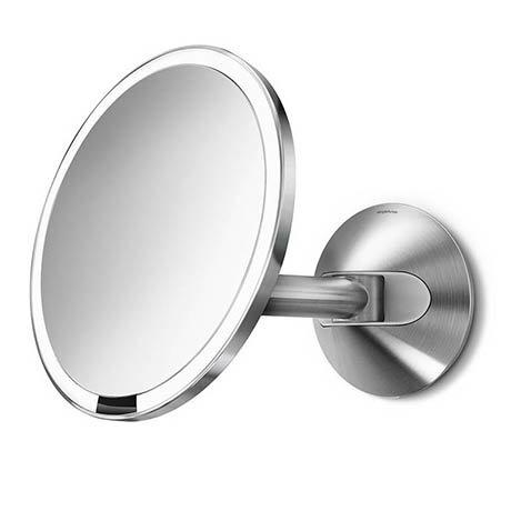 simplehuman Wall Mounted 20cm Cosmetic Sensor Mirror - ST3003