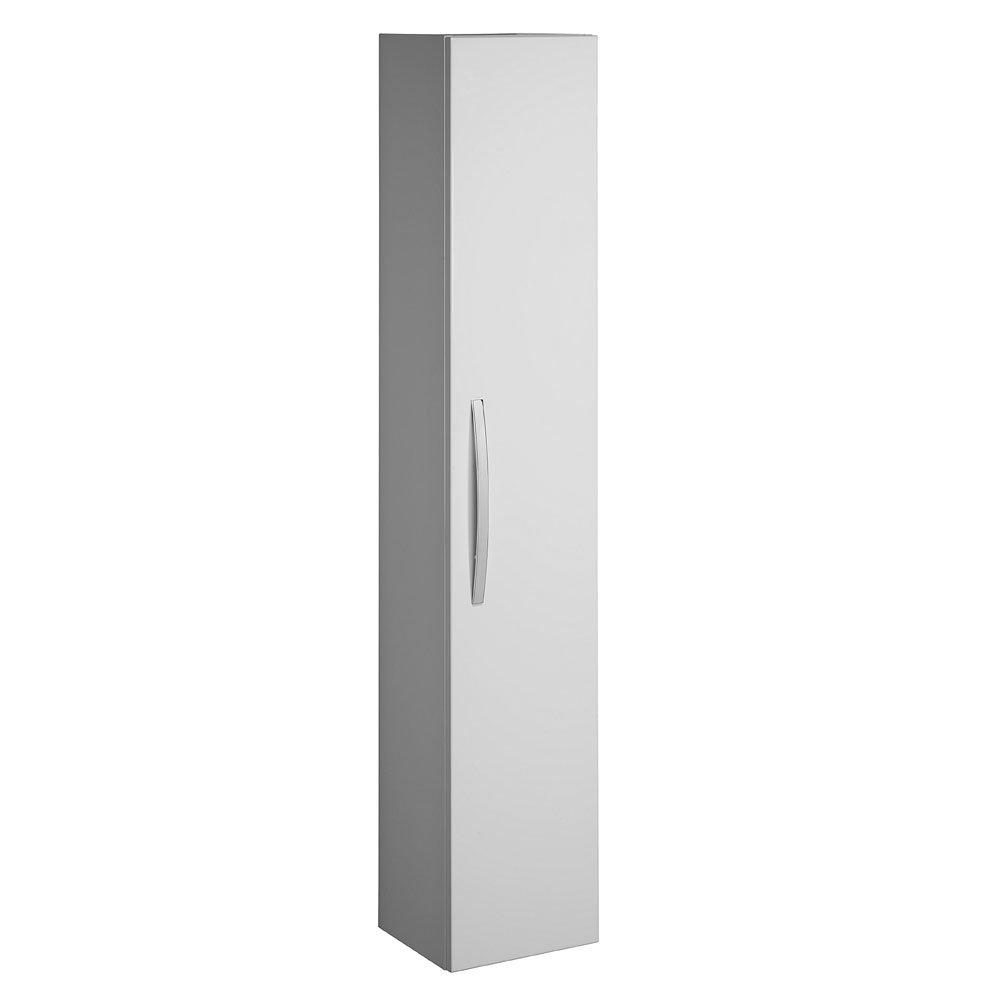 Bauhaus - Stream Wall Hung Tower Storage Unit - White Gloss - ST3016WG Large Image