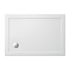 Crosswater - Rectangular Low Profile Acrylic Shower Tray with Waste - Various Size Options profile small image view 1