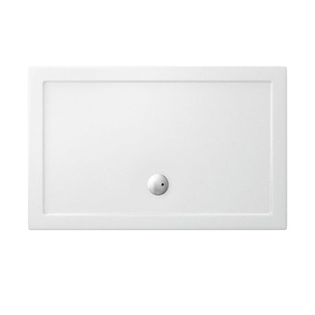 Crosswater - Walk In Low Profile Acrylic Shower Tray with Waste - 2 Size Options