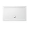 Crosswater - Walk In Low Profile Acrylic Shower Tray with Waste - 2 Size Options profile small image view 1