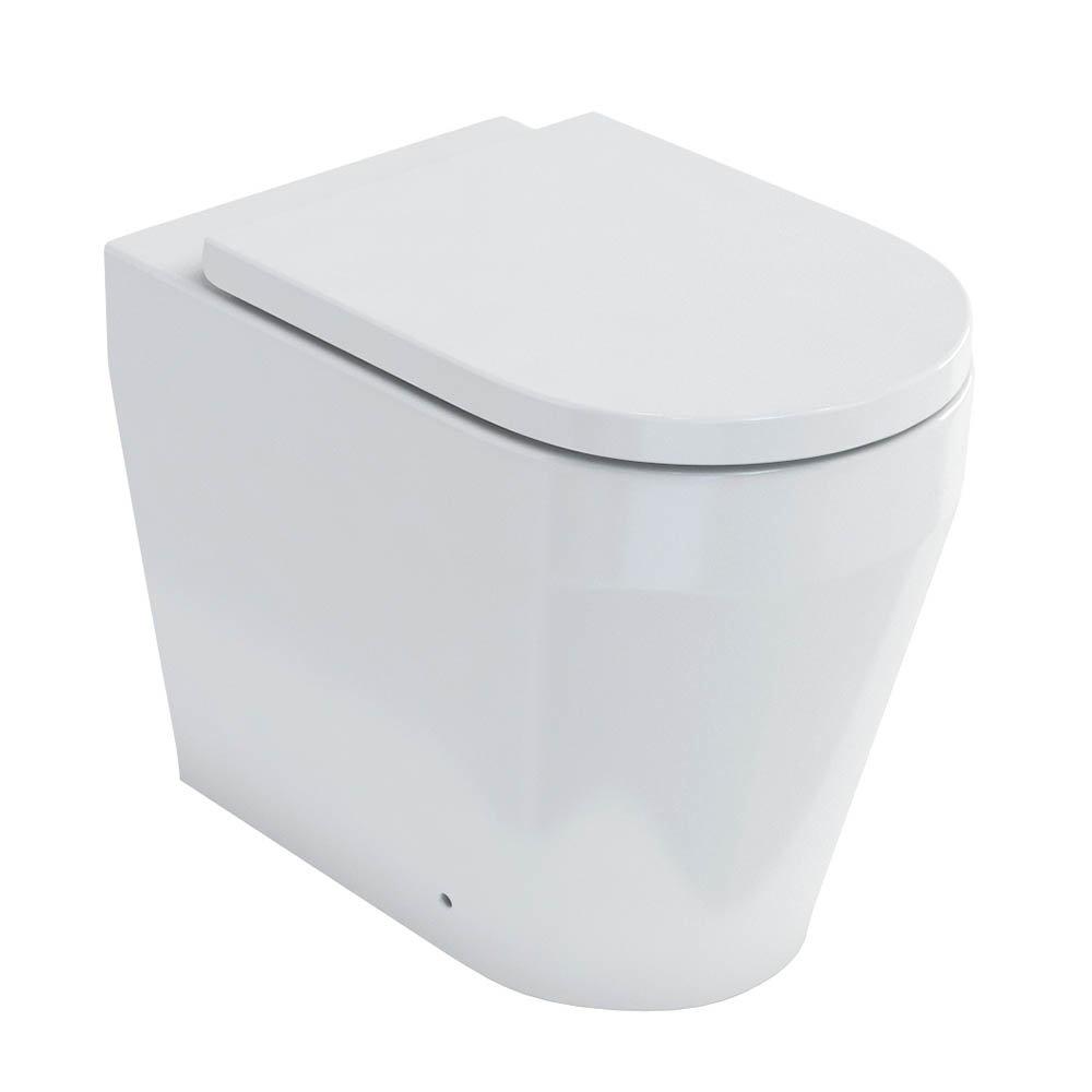 Britton Bathrooms Stadium Back To Wall Pan + Soft Close Seat