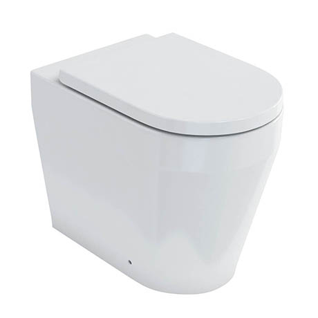 Britton Bathrooms Stadium Back To Wall Pan + Soft Close Seat