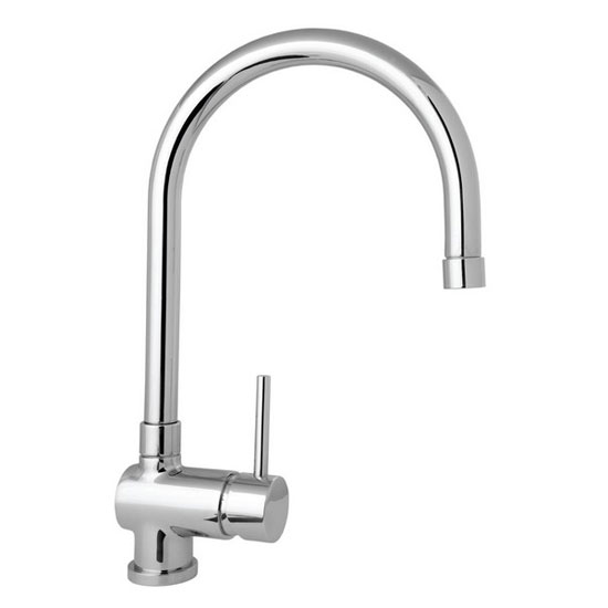 Deva - Stick Mono Kitchen Sink Mixer with Pull Out Rinser - STICK104 Large Image