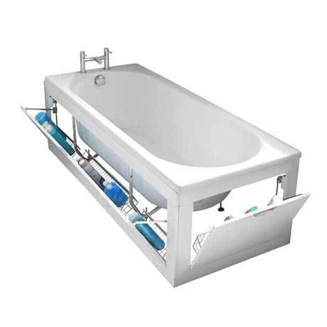 Stowaway Storage Front And End Bath Panels | Victorian Plumbing.co.uk