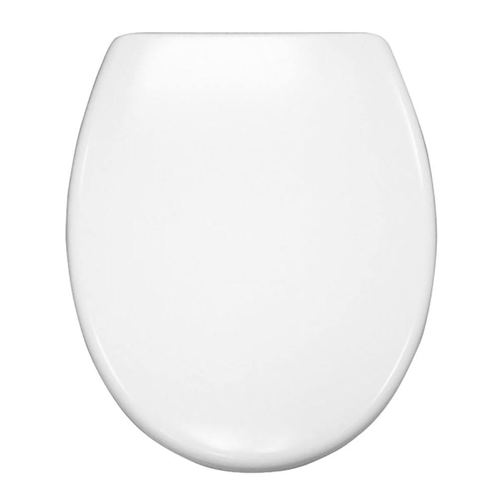 Standard Soft-Close Replacement Toilet Seat with Top-fix Quick Release Chrome Hinges