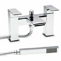 Hudson Reed Strike Bath Shower Mixer w/ Shower Kit and Wall Bracket - STR314 Medium Image