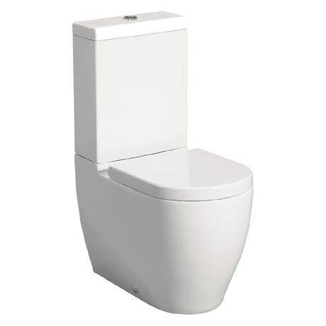 Bauhaus - Stream II Close Coupled Toilet with Soft Close Seat