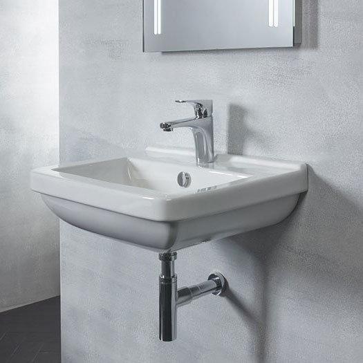 Tavistock Ion 560mm Ceramic Basin & Bottle Trap Feature Large Image