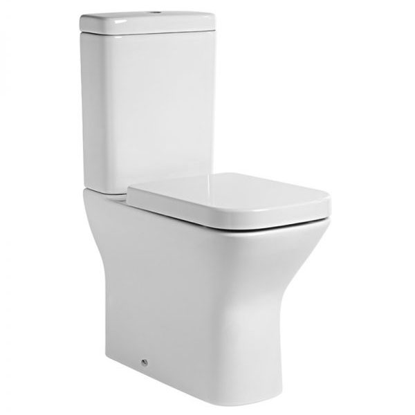 Tavistock Structure Comfort Height Close Coupled WC & Soft Close Seat Large Image