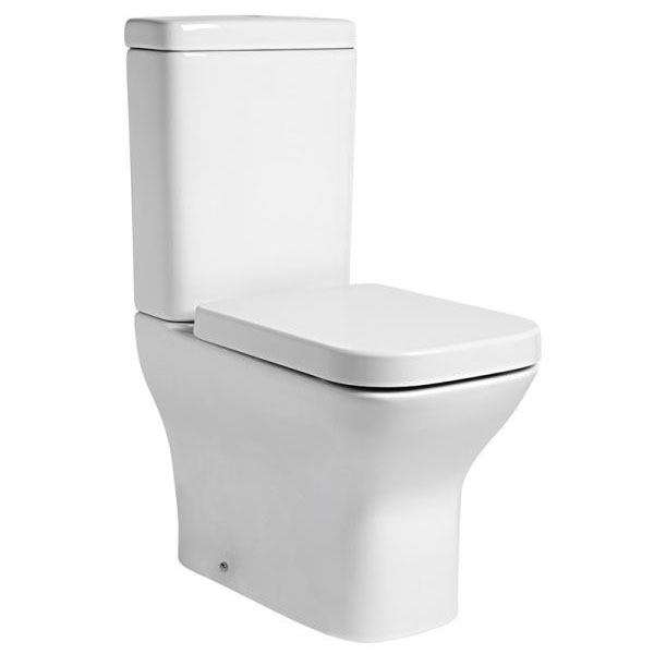 Tavistock Structure Fully Enclosed Close Coupled WC & Soft Close Seat Large Image