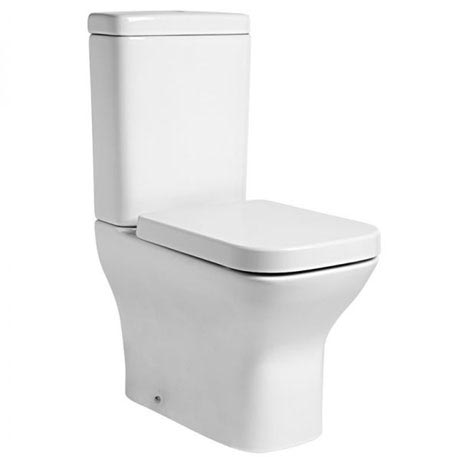 Tavistock Structure Fully Enclosed Close Coupled WC & Soft Close Seat