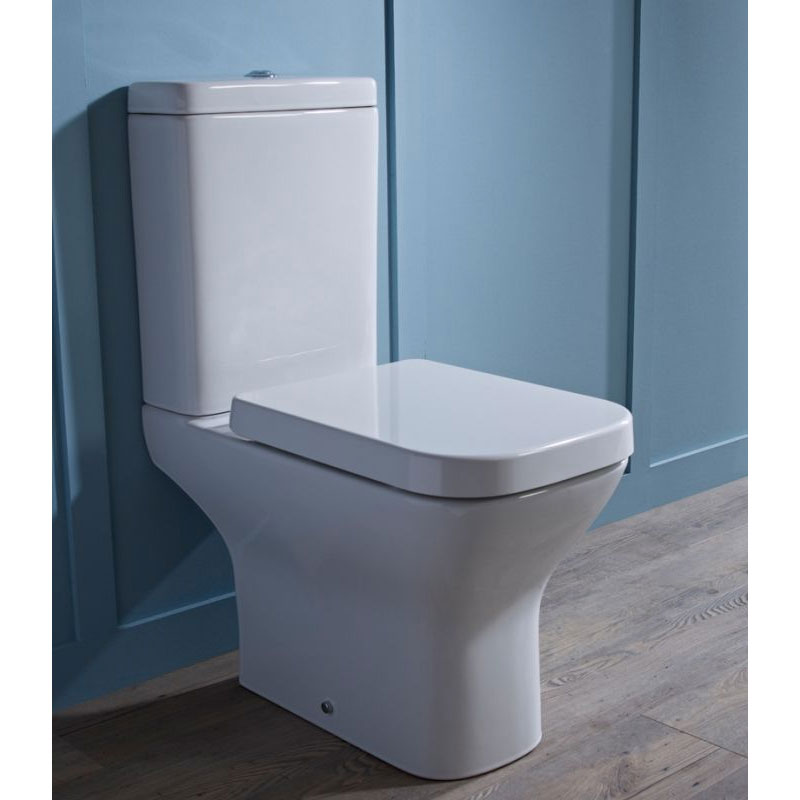 Tavistock Structure Open Back Close Coupled WC & Soft Close Seat profile large image view 3