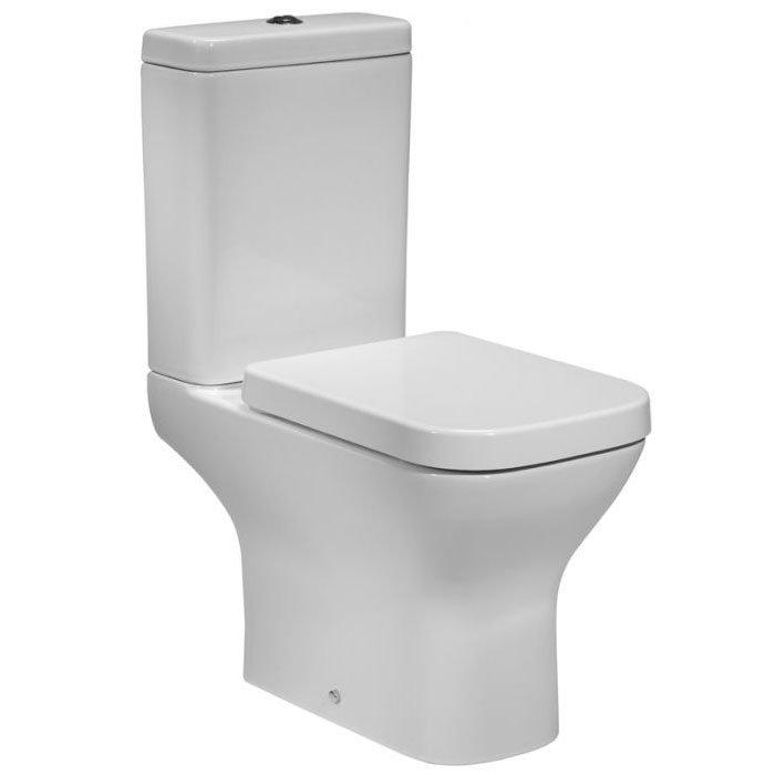 Tavistock Structure Open Back Close Coupled WC & Soft Close Seat profile large image view 1