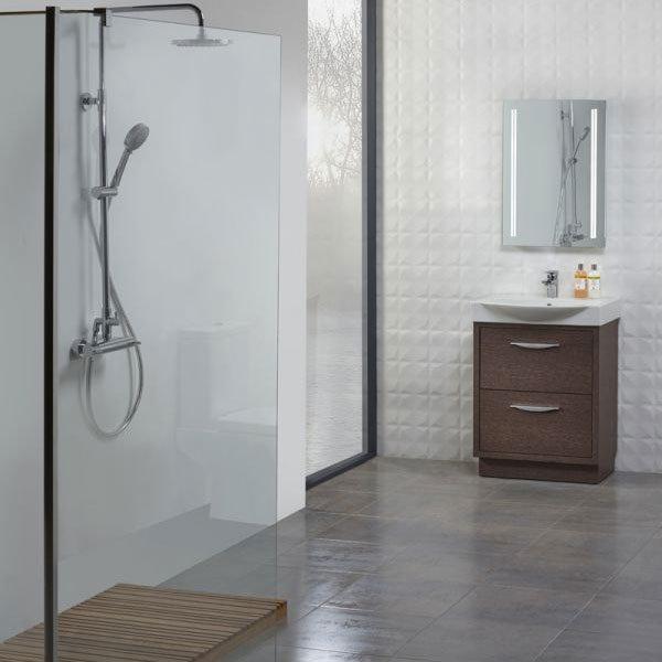 Tavistock Studio 650mm Freestanding Unit & Basin - Dark Java profile large image view 2