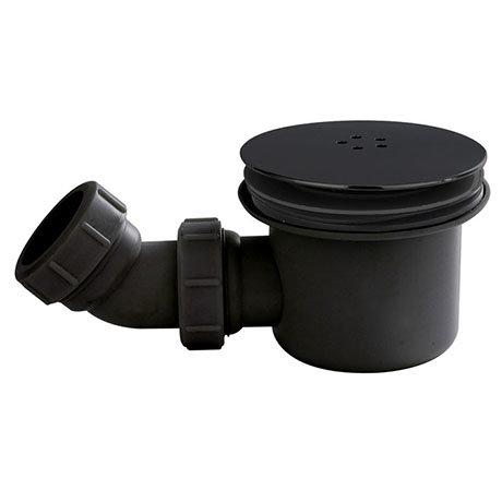 Turin Black Fast Flow Shower Waste