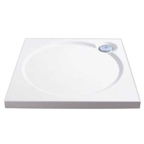 Coram Designer Slimline Square Shower Tray - 3 Size Options