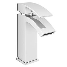 Summit Mono Basin Mixer with Waste - Chrome Medium Image