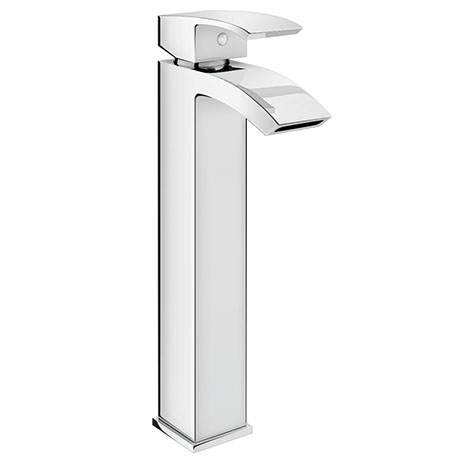 Summit High Rise Mono Basin Mixer without Waste - Chrome