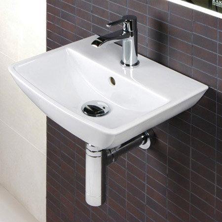 RAK Summit Cloakroom Suite - Close Coupled WC & 40cm Hand Basin Profile Large Image