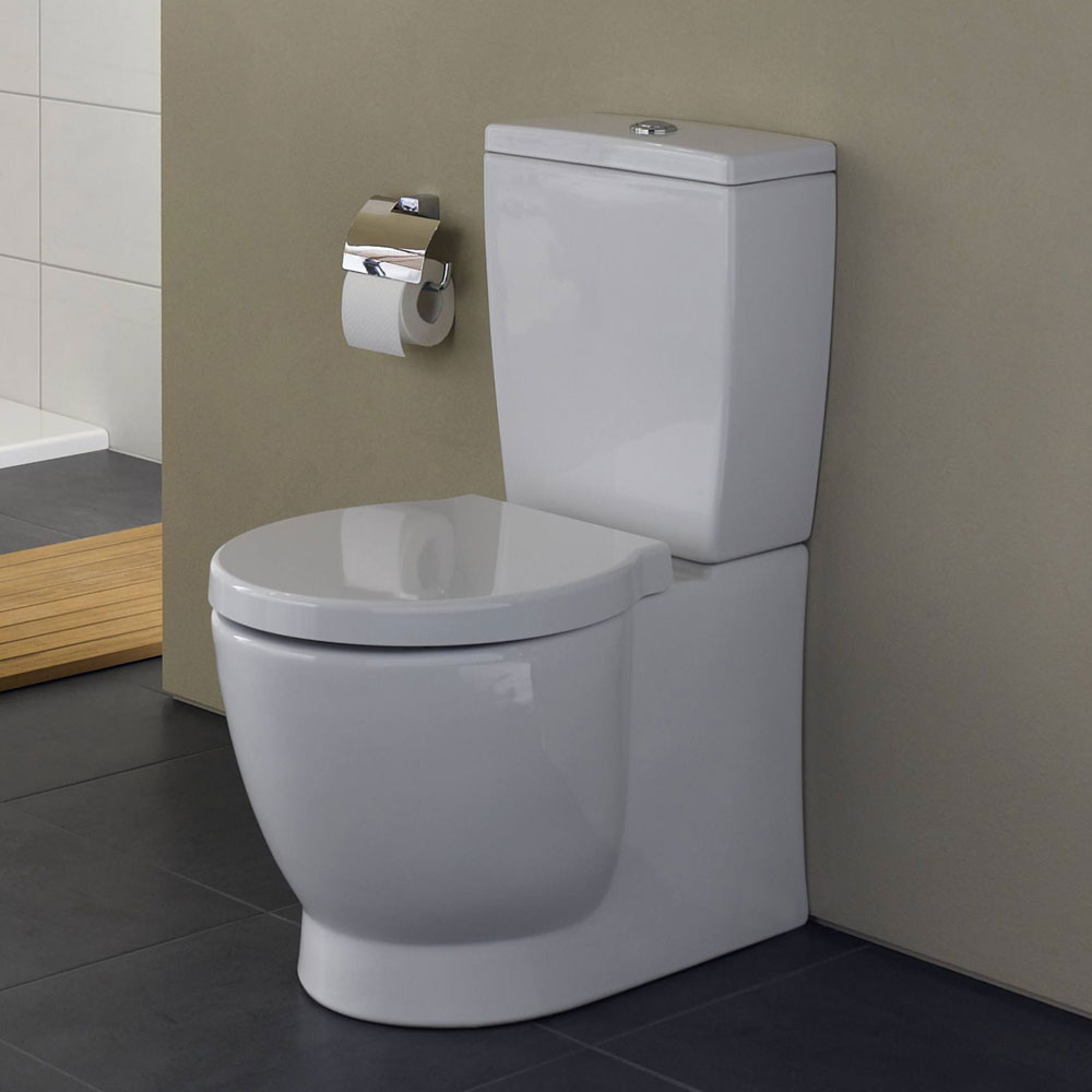 Vitra - Sunrise Close Coupled Toilet (Fully Back to Wall) profile large image view 3