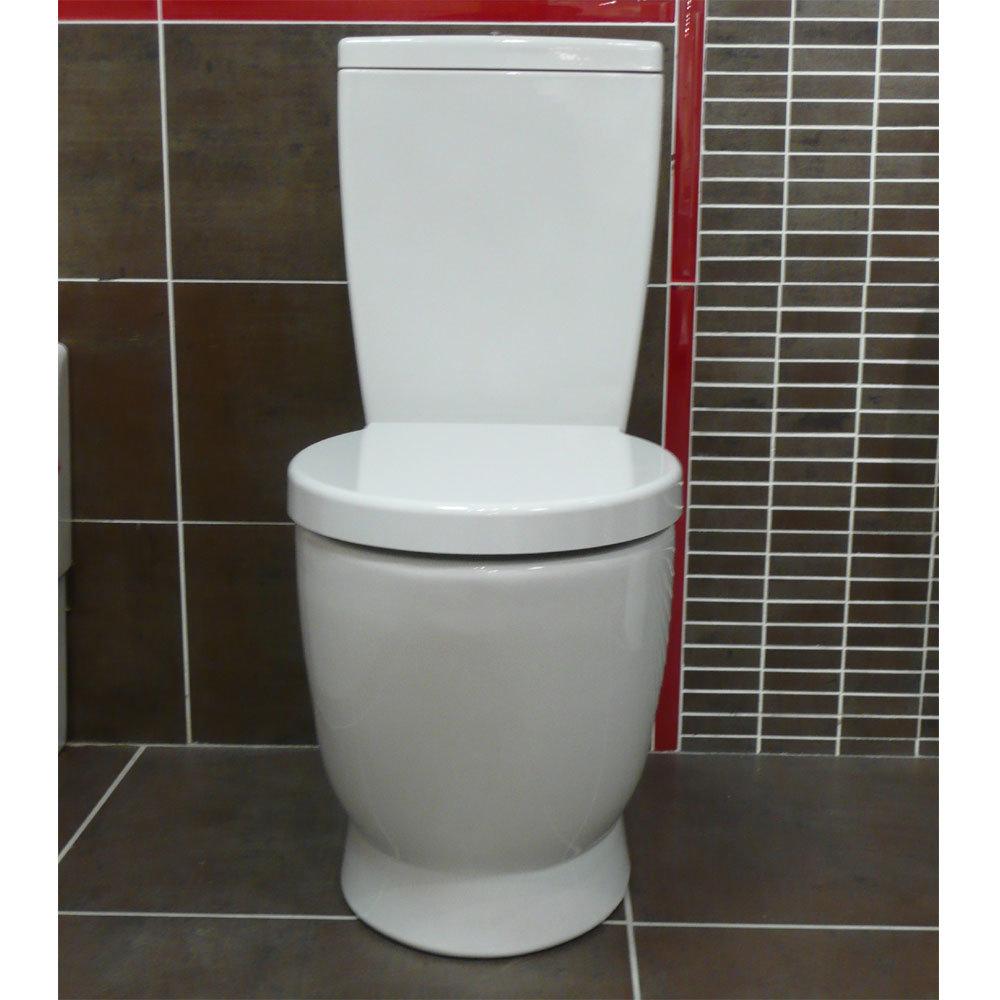 Vitra - Sunrise Close Coupled Toilet (Fully Back to Wall) profile large image view 2