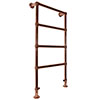 Bloomsbury Copper 598 x 1194mm Floor Mounted Towel Rail profile small image view 1