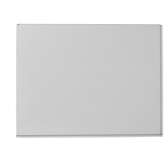 Fresssh - Supastyle 750mm End Bath Panel - 2mm Thick - White - 356112WT Large Image