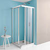 Simpsons Supreme Corner Entry Shower Enclosure - 4 Size Options profile small image view 1