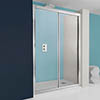 Simpsons - Supreme Single Slider Shower Door - 4 Size Options profile small image view 1
