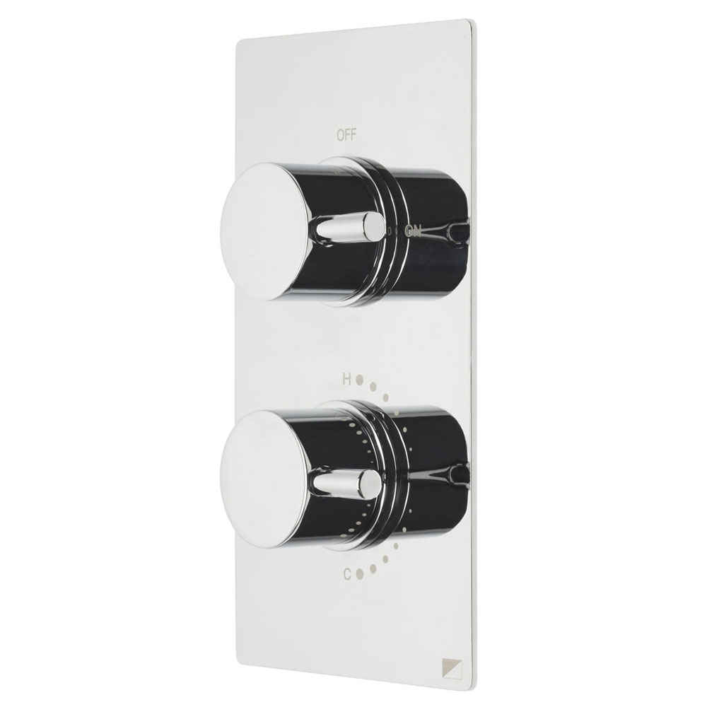 Roper Rhodes Event Round Concealed Dual Function Shower System - SVSET42 profile large image view 3