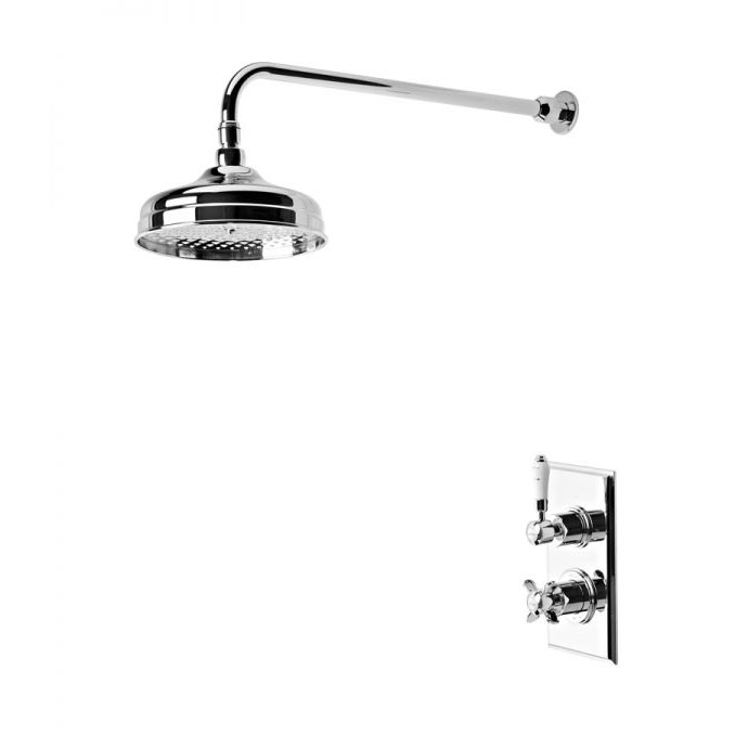 Tavistock Varsity Thermostatic Concealed Single Function Shower Valve System Large Image
