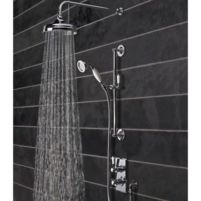 Tavistock Varsity Thermostatic Concealed Dual Function Shower Valve System Profile Large Image