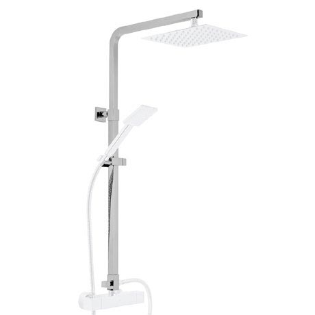 Roper Rhodes Square Height Adjustable Rigid Riser Rail with Diverter - SVARM10