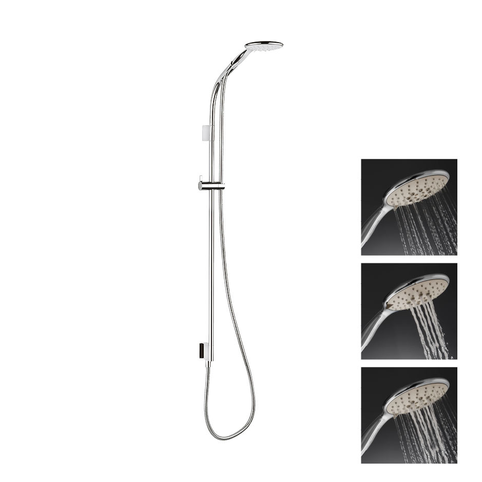 Crosswater Svelte Premium Shower Kit - SVELTE-PACKAGE-4 profile large image view 1