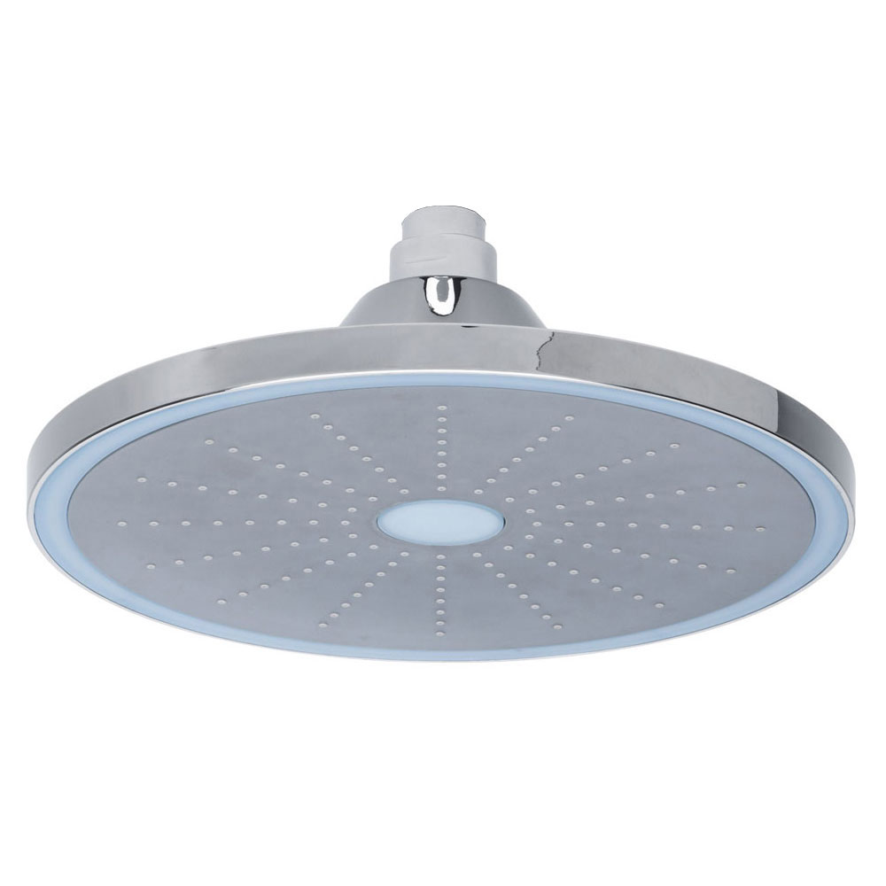 Roper Rhodes Round 220mm LED Shower Head - SVHEAD19 profile large image view 1