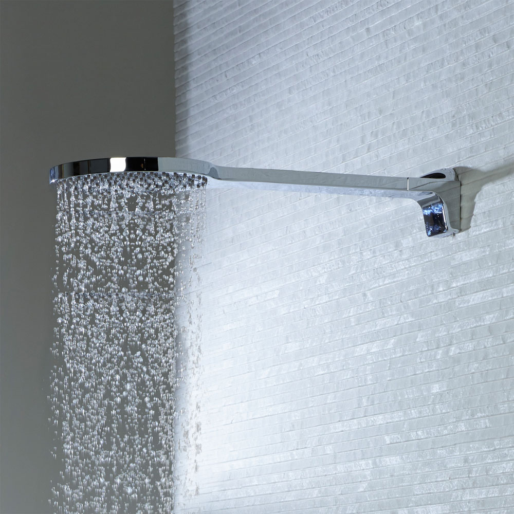 Roper Rhodes Ariel 190mm One Piece Wall Mounted Shower Head - SVHEAD32 profile large image view 2
