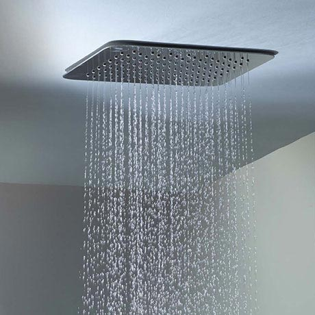 Roper Rhodes Square 300mm Ceiling Mounted Shower Head - SVHEAD33 Profile Large Image