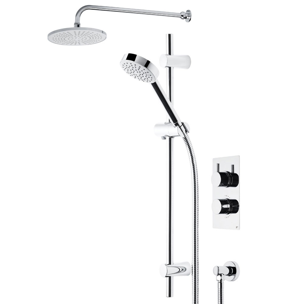 Roper Rhodes Event Round Dual Function Shower System with Fixed Shower Head - SVSET01 Large Image