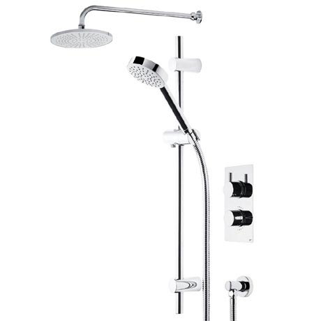 Roper Rhodes Event Round Dual Function Shower System with Fixed Shower Head - SVSET01