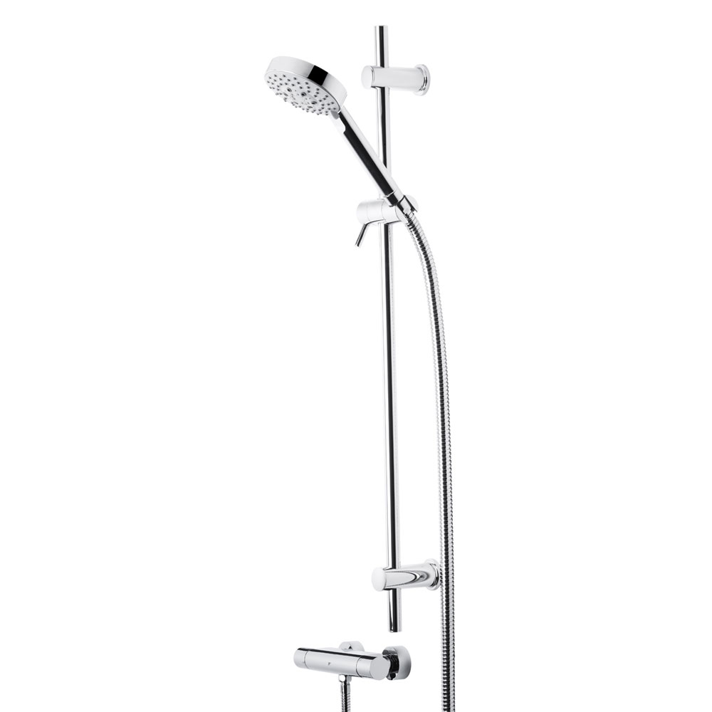 Roper Rhodes Storm Single Function Shower System with 5 Function Handset - SVSET04 profile large image view 1