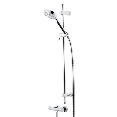 Roper Rhodes Storm Single Function Shower System with 5 Function Handset - SVSET04