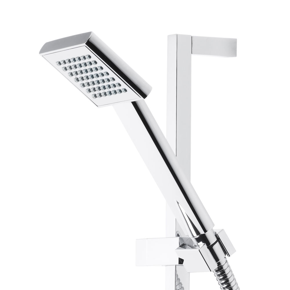 Roper Rhodes Event Square Dual Function Shower System with Fixed Shower Head - SVSET17 Standard Large Image