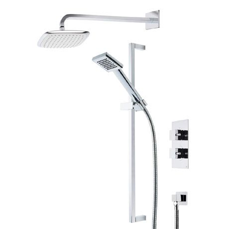 Roper Rhodes Event Square Dual Function Shower System with Fixed Shower Head - SVSET17