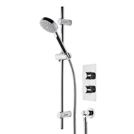 Roper Rhodes Event Round Single Function Shower System - SVSET20