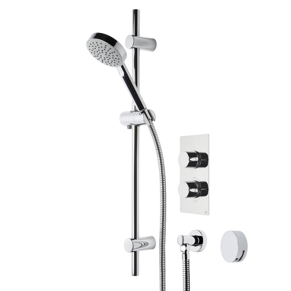Roper Rhodes Event Round Dual Function Shower System with Bath Filler - SVSET21 profile large image view 1