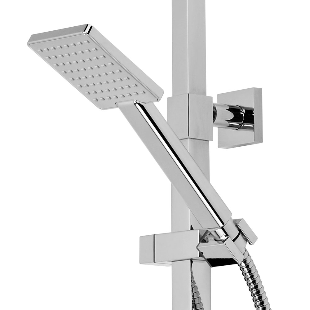 Roper Rhodes Event Square Exposed Dual Function Diverter Shower System - SVSET31 profile large image view 4